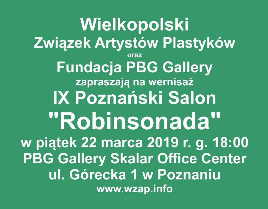 Zaproszenie IX Robinsonada 2019