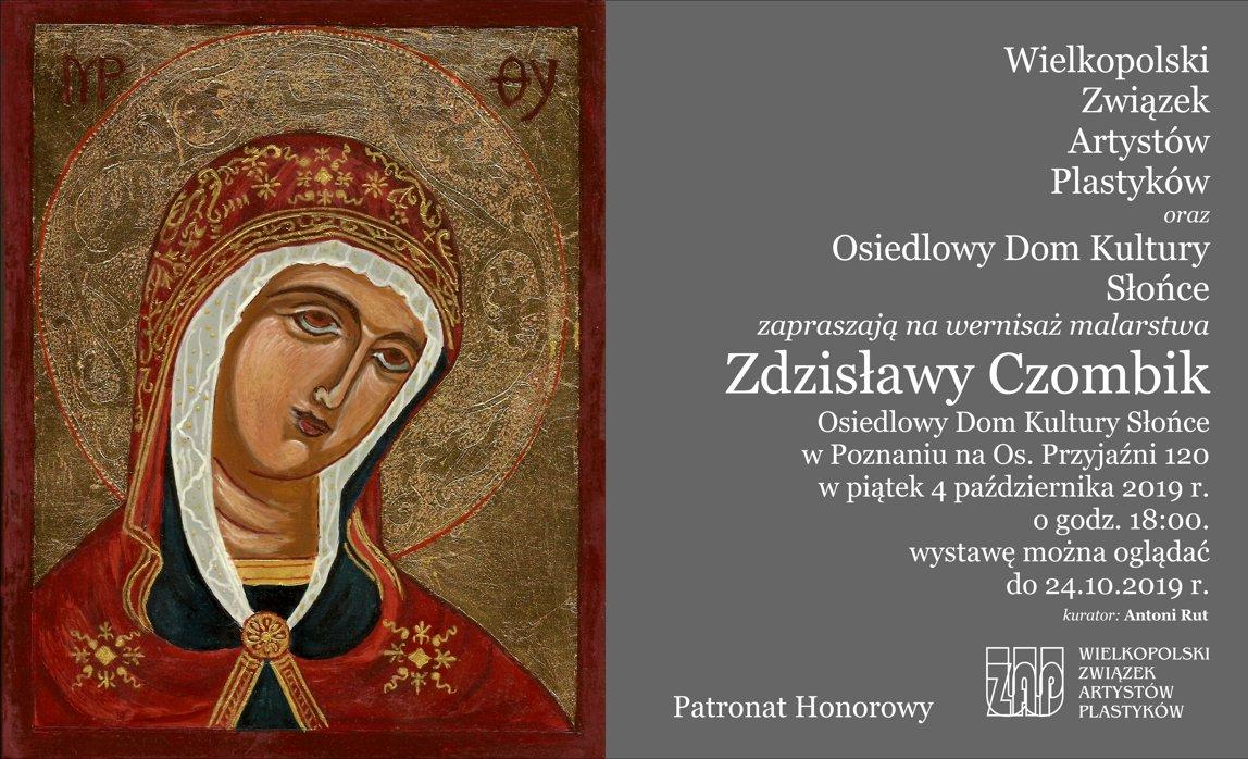Malarstwo Zdzisławy Czombik 2019