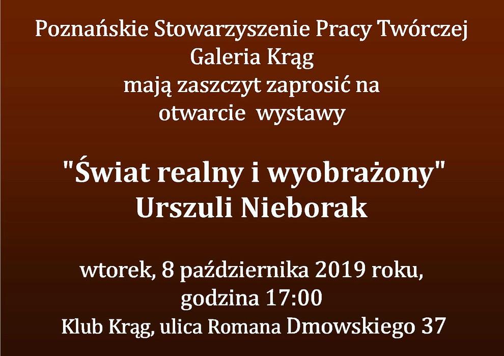 Urszula Nieborak Zaproszenie 2019