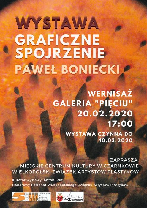 Graficzne spojrzenie Paweł Boniecki 2020