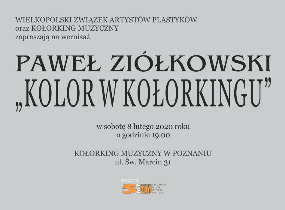 Paweł Ziółkowski Kolor w Kołorkingu