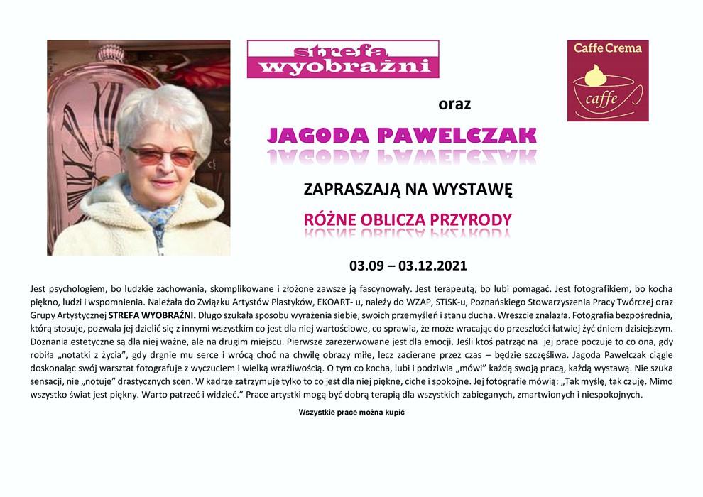 Jagoda Pawelczak Różne oblicza przyrody 2021
