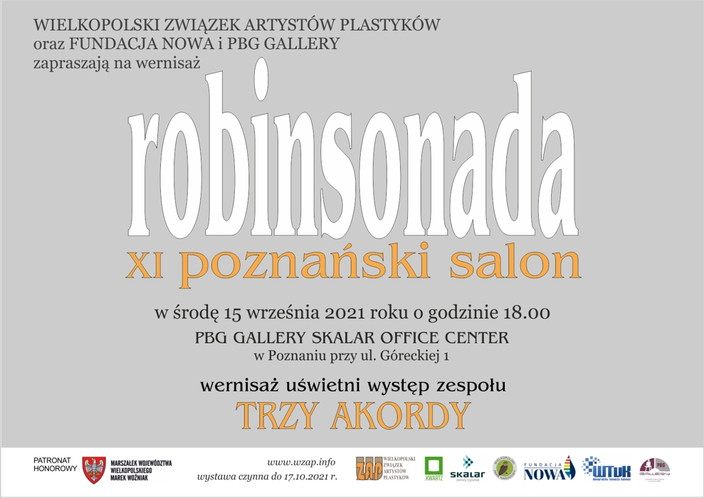 XI Robinsonada 2021 r Zaproszenie